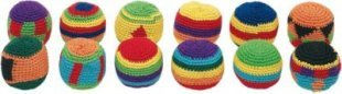 goki 15162 Kick-Ball, Ø= 5 cm, mehrfarbig (Modell zufällig, 1 Stück)