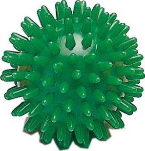 Weplay KT3308 Massageball Igelball Noppenball, grün 7cm, grün (1 Stück)