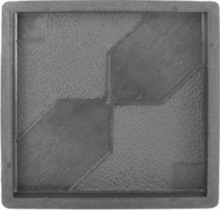 PP Betonform Sanduhr 30 x 30 x 3 cm