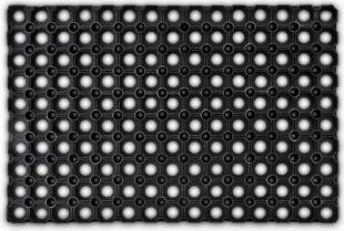 relaxdays Fußabtreter Gummi 60 x 40 cm