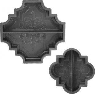 Betonform Orient, Randstück 29,5 x 29,5 x 4,5 cm