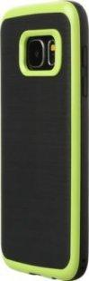Schutzhülle Samsung S7 Smartphone Handy Tasche Handyhülle schwarz hell grün