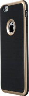 Schutzhülle iPhone 6 Plus Smartphone Handy Case Tasche Handyhülle schwarz gold