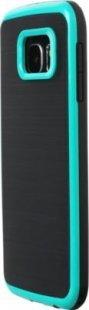 Schutzhülle Samsung S6 Smartphone Handy Case Tasche Handyhülle schwarz grün Etui
