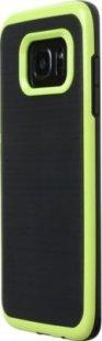 Schutzhülle Samsung S7 Edge Smartphone Handy Hülle Tasche schwarz hell grün