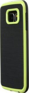 Schutzhülle Samsung S6 Smartphone Handy Tasche Handyhülle schwarz hell grün