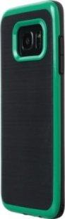 Schutzhülle Samsung S7 Edge Smartphone Handy Tasche Handyhülle schwarz grün
