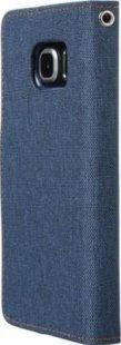 Schutzhülle Samsung S6 Edge Smartphone Handy Case Tasche Handyhülle navy Etui
