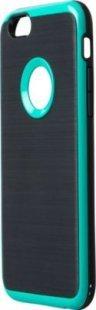 Schutzhülle iPhone 6 Smartphone Handy Case Tasche Handyhülle schwarz grün Etui