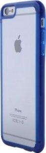 Schutzhülle iPhone 6 Plus Smartphone Handy Tasche Handyhülle transparent blau
