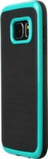Schutzhülle Samsung S7 Smartphone Handy Case Tasche Handyhülle schwarz grün Etui