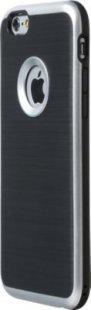 Schutzhülle iPhone 6 Smartphone Handy Case Tasche Handyhülle schwarz silber Etui