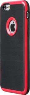 Schutzhülle iPhone 6 Smartphone Handy Case Tasche Handyhülle schwarz rot Etui
