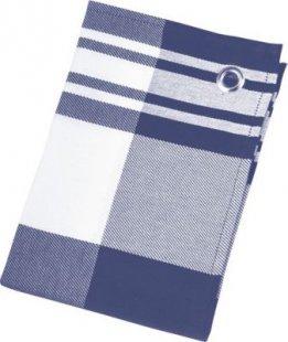 St. Barth Geschirrtuch Karo Dessins, 100% Baumwolle, 50 x 70 cm, blau/weiß (1 Stück)