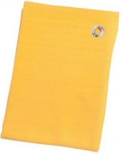 St. Barth Geschirrtuch Jaquard-Streifen, 100% Baumwolle, 50x70cm, gelb (1 Stück)