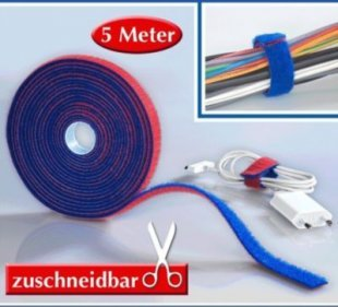 Multi-Klettband 5m,1 Pack.