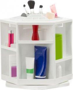 Kosmetikorganizer drehbar Weiß