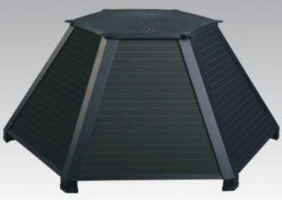 Scansun Black Diamond Solar-Warmluft-Kollektor