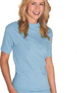 bodytec T-Shirt ´´Klassiker´´ für Damen, hellblau, Gr.S