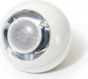 GEV LED Lichtball mit Bewegungsmelder weiß