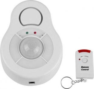 SECURE@HOME 360°-Deckenalarm Bewegungsmelder mit Fernbedienung