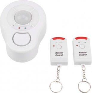 OLYMPIA BMD 210 Decken-Bewegungsmelder mit Alarmfunktion, 2 Fernbedienungen, 95 dB