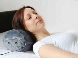 Nackenrolle mit Massage- und Wärmefunktion