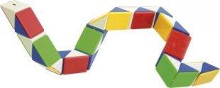 EDUPLAY 120-017 Puzzleschlange, Kunststoff, 40cm, bunt (1 Stück)