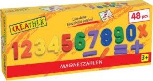 Creathek Magnet Zahlen und Zeichen 48-teilig