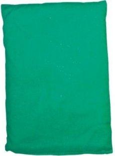 EDUPLAY 170-097 Bohnensäckchen, 20 x 15 cm, grün (1 Stück)