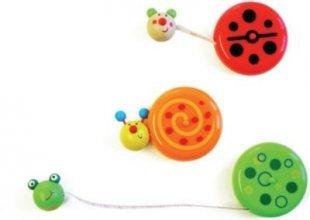 EDUPLAY 130187 Maßband-Rolle mit Tiermotiven, 150 cm, 7,5x5,5x1,5cm, mehrfarbig (Modell zufällig, 1 Stück)