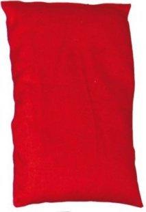 EDUPLAY 170-090 Bohnensäckchen, 15 x 10 cm, rot (1 Stück)