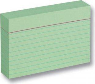 folia 2009 Karteikarten 190 g/m², DIN A7, liniert, grün (1 Stück)