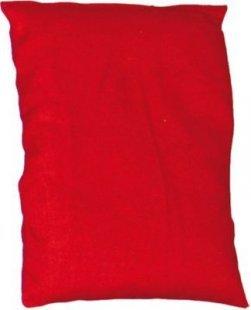 EDUPLAY 170-094 Bohnensäckchen, 20 x 15 cm, rot (1 Stück)