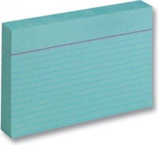 Folia Karteikarten 190 g/m², DIN A6, liniert, blau (100 Stück)