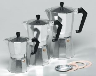Krüger Alu-Espressokocher