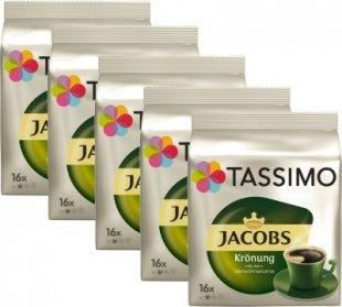5 Pack Tassimo TDisc Jabos Krönung 80 Tassen Caffee Kaffee Kapseln Heißgetränk