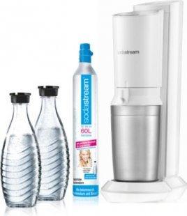 SodaStream Crystal Megapack 2.0 Wassersprudler weiß