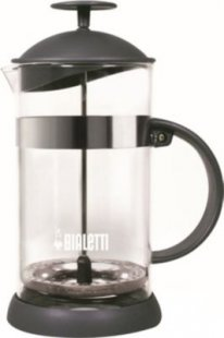 Bialetti Kaffebereiter Teebereiter 1L Kaffee Tee Maschine Teekanne Kaffeekanne