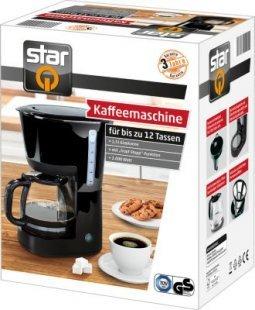 starQ Kaffeemaschine 1000 Watt