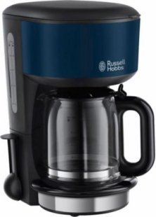 Russell Hobbs 20134-56 Colours Royal Blue Glas-Kaffeemaschine