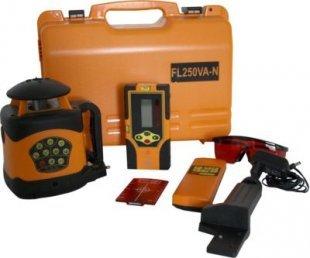 geo Fennel Rotationslaser vollautomatisch FL 250 VA-N Baulaser Laser Kofferset