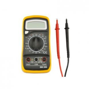 Unitec DM250 Digital-Multimeter