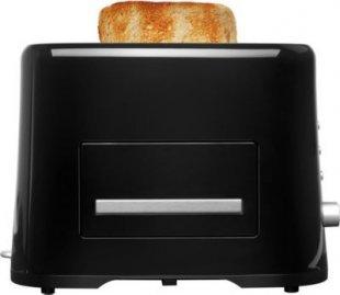 MEDION® Toaster MD 16734, 870 Watt Leistung, variable Temperatureinstellung, Aufwärm- und Auftaufunktion, Krümelblech, schwarz