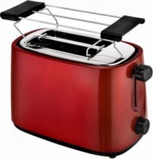 Efbe-Schott Automatik-Toaster, metallic rot