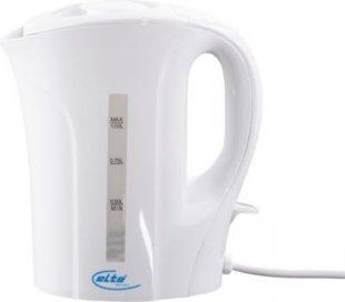 ELTA WK-1000 Wasserkocher, 1,0 Liter, 800-1000 W, Weiß