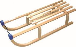 Massiver Davos Holzschlitten Rodel Holz Schlitten bis 120kg belastbar 100cm Neu