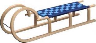 Remo Sports Hörner-Rodel 110 cm mit Sitzgurt