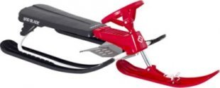 Hamax Sno Blade Rennschlitten grey/red