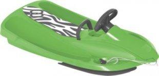 Hamax Sno Zebra Schlitten green/grey